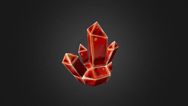 Ground Crystal 3D Model
