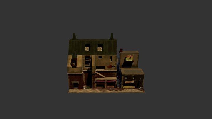 City slums 3D Model