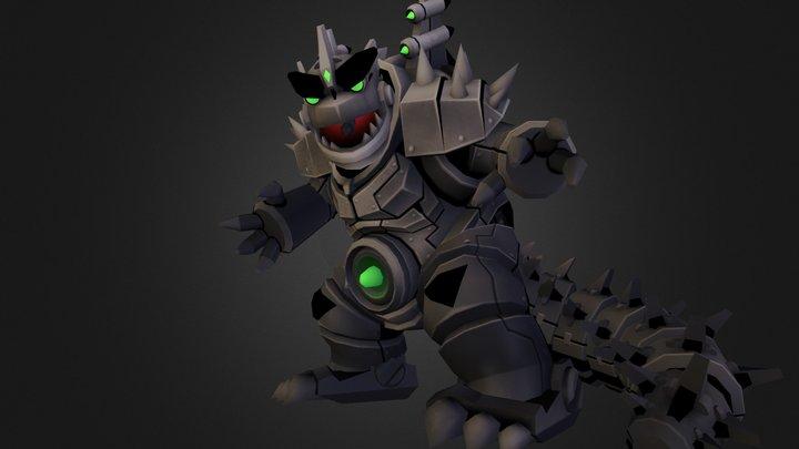 Robokomododon 3D Model
