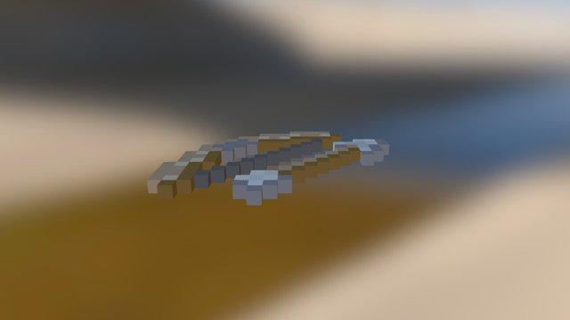 minecraft_bow_and_arrow 3D Model