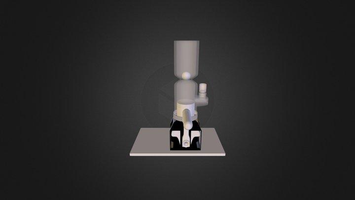 Kolben Bong 3D Model