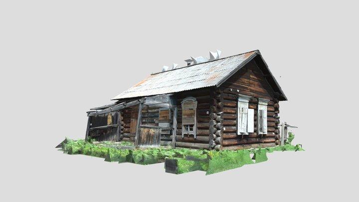Angoy, wooden-house 3D Model