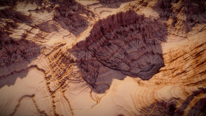 Red Canyon 3D Model