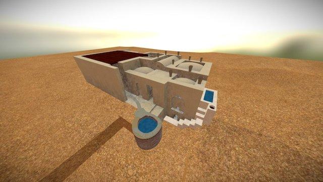 Karanis Bath Reconstruction 3D Model