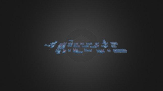 Dungeon Rooms 3D Model
