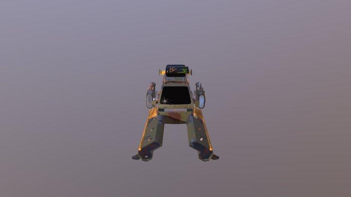 Ganzes Auto Textur Test 3D Model
