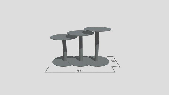 H20 Side Table 3D Model