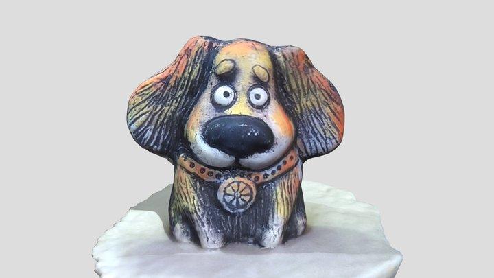 Ceramic dog toy 3D Model