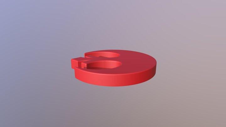 Rebel Alliance Symbol 3D Model