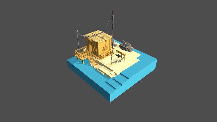 Relax 3D Model