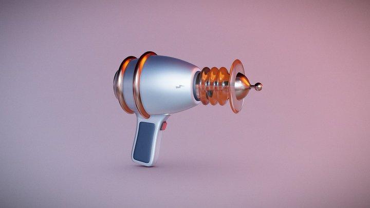Space Gun 3D Model