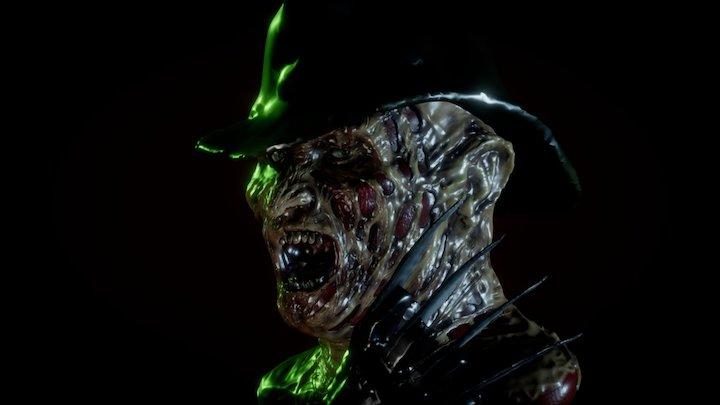 Freddy Krueger 3D Model