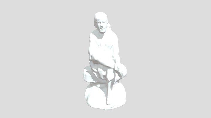 Sai Baba 3D Model