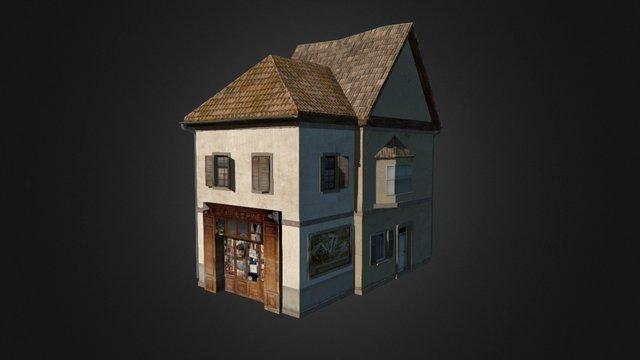 House_Bookshop 3D Model
