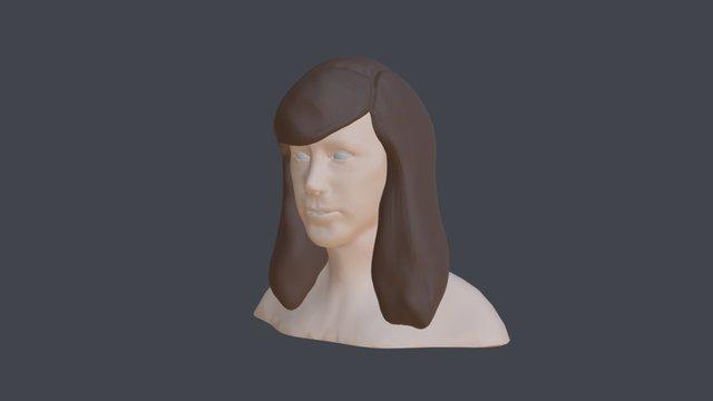 Bust Sculpt Final 3D Model