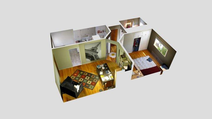 SketchUp - Apartment 3D Model