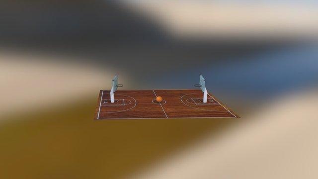 Cancha 3D Model