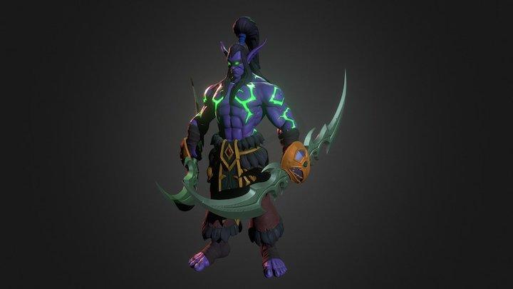Illidan Stormrage 3D Model