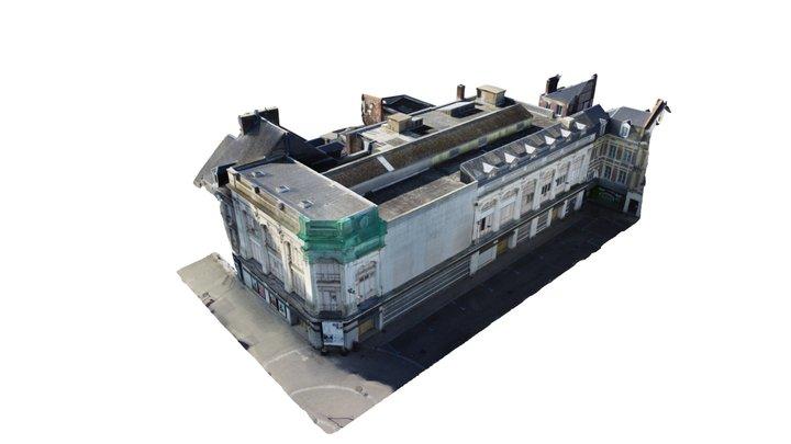 Monoprix Fécamp 3D Model