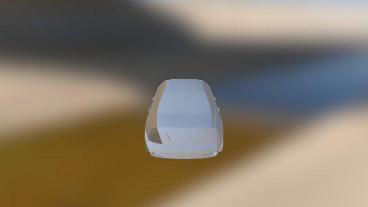 Maseratti Quattroporte 3D Model
