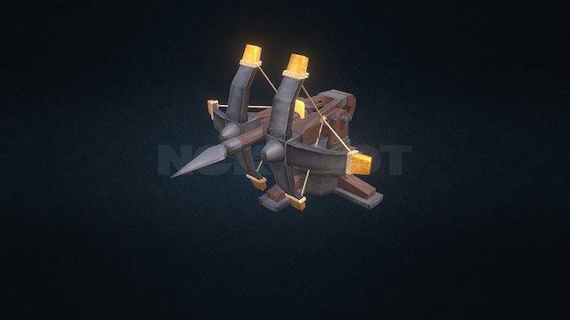 Arrow Turret 3D Model