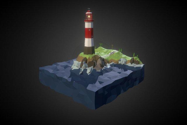 Lighthouse [WLP series #6] 3D Model