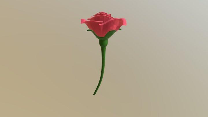Rose to a Rose 3D Model