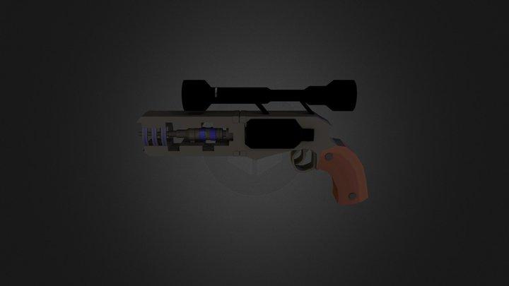 Hand blaster 3D Model