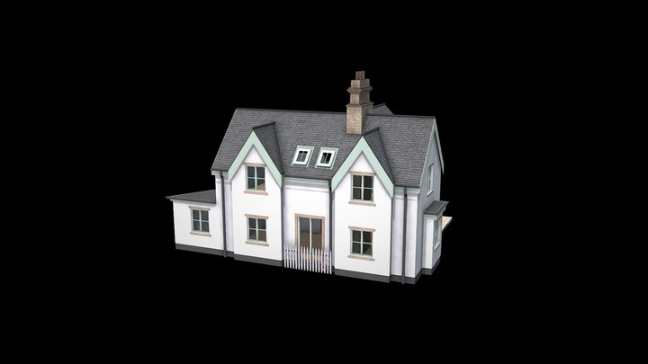 CGI Exterior Visualisation 3D Model