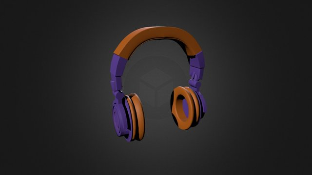 Headset_Textured 3D Model