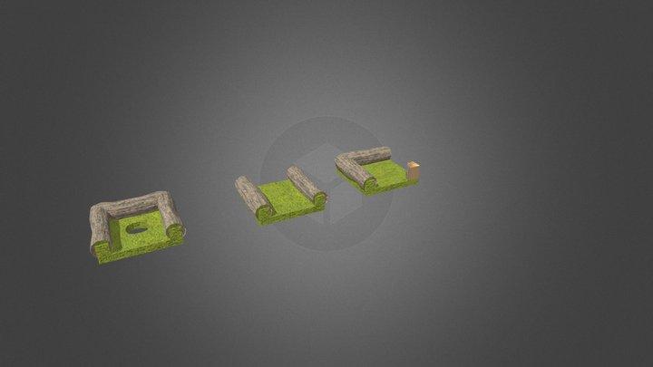Mini Golf - Sections 3D Model