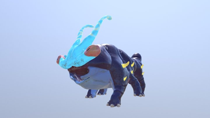 Kaiju 3D Model