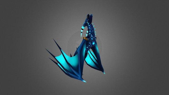 Dragon_Anim_FireBall 3D Model