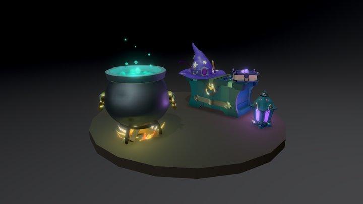 Draftpunk4_colorstudy_hw5 3D Model