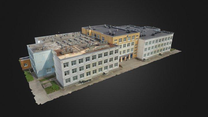 Школа Шексна 3D Model