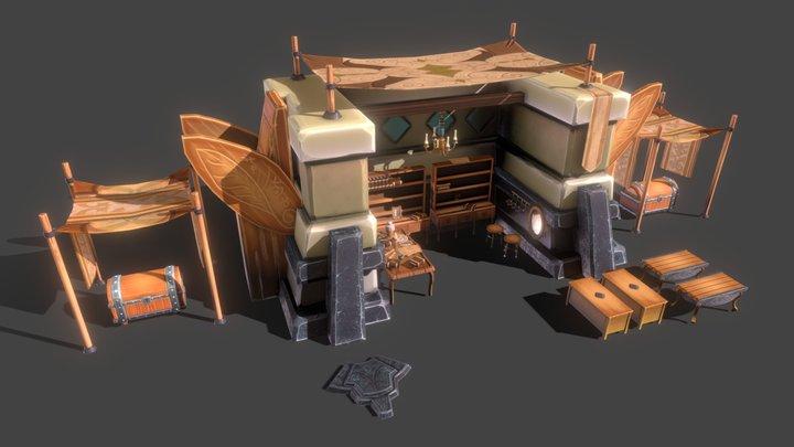 A Shop 3D Model