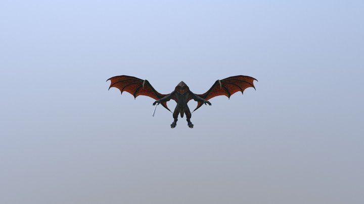 Balrog(Lord of the Rings) 3D Model