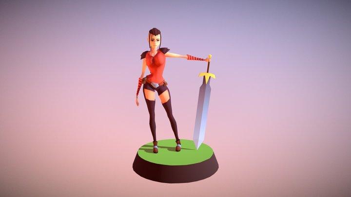 Matilda - Minimal 3D Model