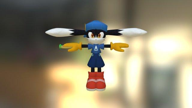 Wii - Klonoa - Klonoa Klonoa 2 Costume 3D Model