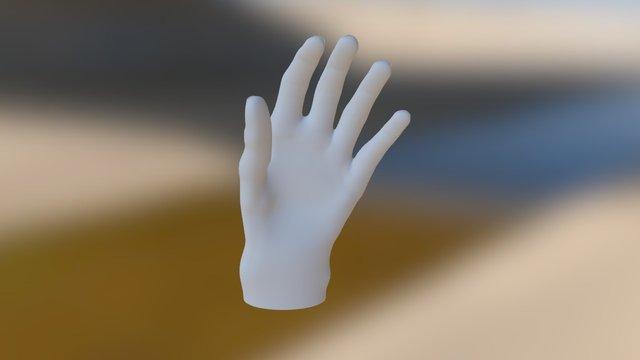 Julie main gauche 3D Model