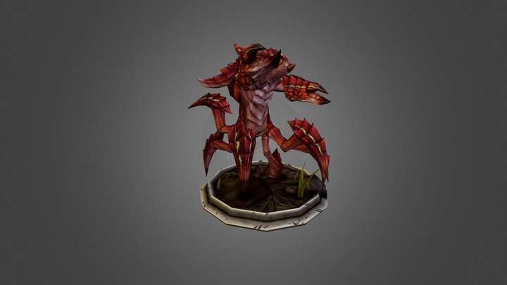 The Kepiting 3D Model
