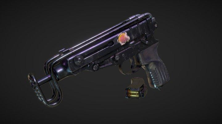 Škorpion gun 3D Model