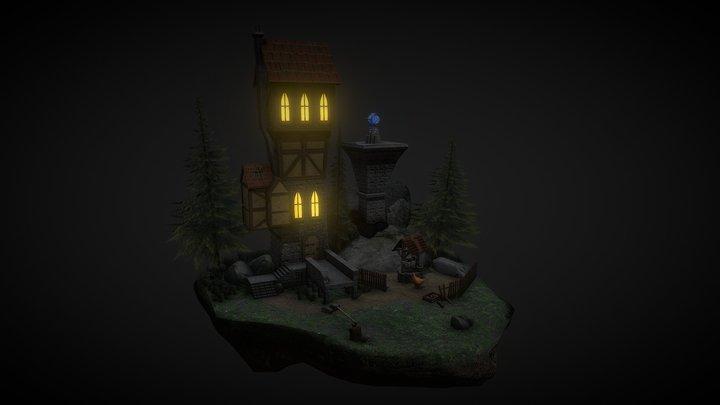 Teeming Tower 3D Model