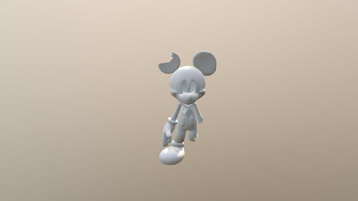 The Mascot 3D Model