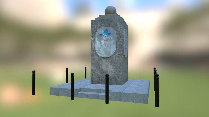 Playground Memory 3D Model
