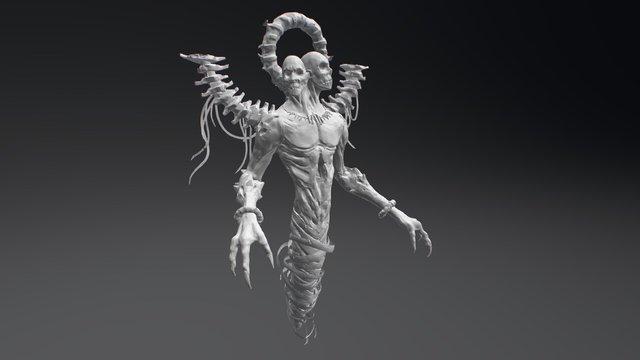 Creature004 3D Model