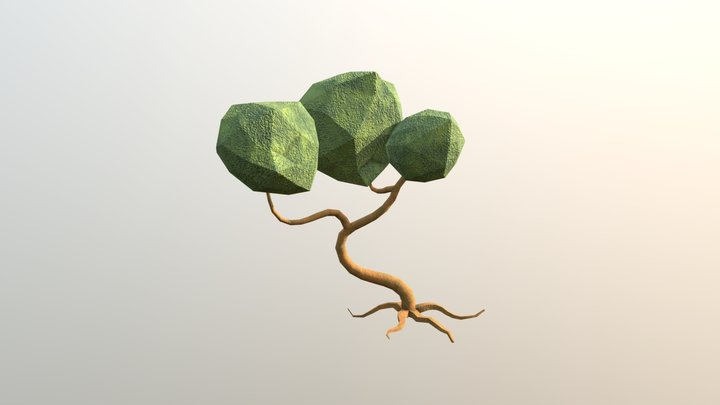 More Crooked Tree 3D Model