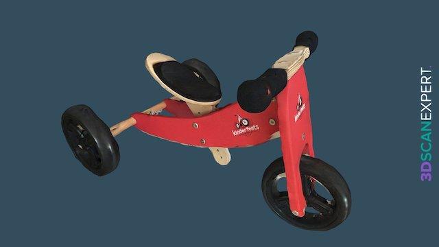 Kinderfeets Trike 3D Model