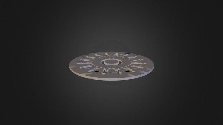 מנדלה 2 תירוש ילין 3D Model