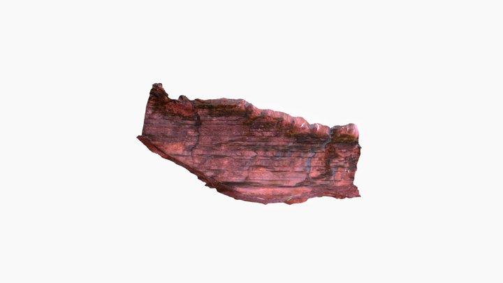 skalný útvar sken 3D Model